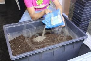 Añadiendo componentes orgánicos