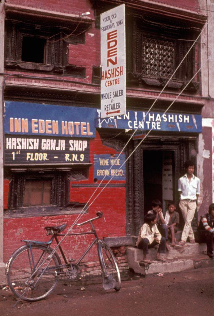 El Eden Hashish Centre, en Katmandú (Nepal), ofrecía hachís de primera a sus visitantes